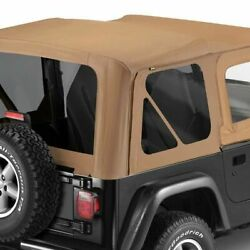 Bestop 51127-37 Soft Top Replace-a-top Polymer Cloth Spice For 1997-2002 Jeep