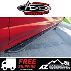 Add Race Series R Side Steps For 15+ Ford F150 17+ Ford Super Duty 4 Dr Crew Cab