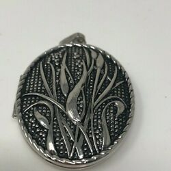 Vintage Sarah Coventry Silver Tone Locket Picture Size Large