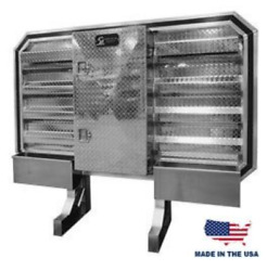 Sturdy Lite Cab Rack With Mini Vault And Chain Hangers Free Shipping