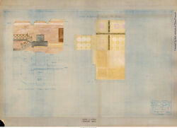 Odin Oyen  Beaver Wade Day Design Sketch for Barnes County ND Courthouse c1925