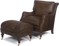 Ottoman Ottoman Reproduction Reproduction Wood Leather Wood Leather R Mk-