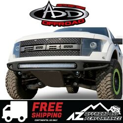 Add Venom R Front Bumper No Logo Black For 2010-2014 Ford F150 Raptor