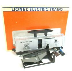 Lionel Trains O Scale Cando Cop And Hobo Hydraulic Maintenance Boxcar 6-16705