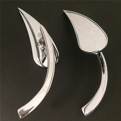 New Claw Style Chrome Rearview Mini Mirror For Harley Street Sports Cruiser