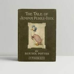Beatrix Potter – The Tale of Jemima Puddle-Duck – First UK Edition 1908 - 1st
