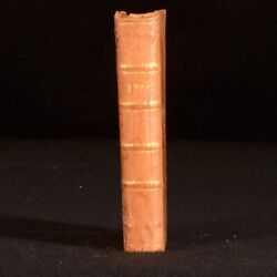 1777 The Court And City Register Gentlemanand039s Complete Annual Calendar Army Navy