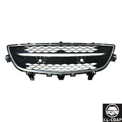 Front Bumper Center Lower Grille With Chrome Molding Trim For Mazda Cx-9 10-12
