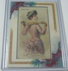 2007 Topps Allen And Ginter Head Erect Framed Parasol Drill 1888 N18 Card 1/1