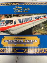 Disney 3 Monorail Track Boxes Only  No Vehicles, Train, Track Or Cars