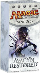 1x Deathand039s Encroach Avacyn Restored Event Deck New Intro Decks Starter And