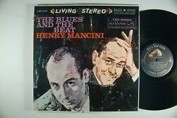 Henry Mancini The Blues And The Beat Lp Living Stereo Org Inner Sleeve 1s/5s Dg