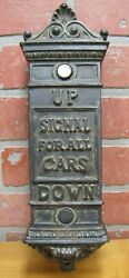 Antique Elevator UP DOWN SIGNAL FOR ALL CARS Panel Exquisite Building Hardware
