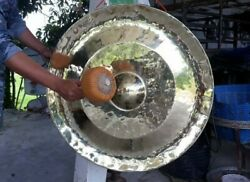 Thai Gongs 2  (80 cm , 2 pieces Hand-made Handicrafts from Thailand)