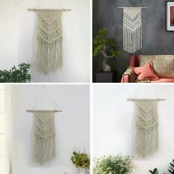 Macrame Wall Hanging Tapestry Home Apartment Dorm Geometric Art Decor Craft Gift