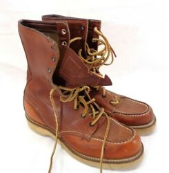 Vintage Womenand039s Red Wing Irish Setter Sport Hiking Leather Boots Size 8 - Defect