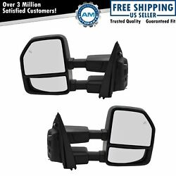 Mirror Pair Power Fold And Telescoping Heated Turn Marker Spot Puddle Lamp Texture