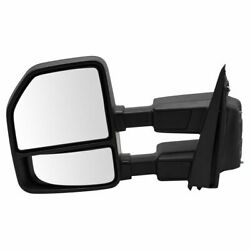 Mirror Power Fold And Telescoping Heated Turn Marker Spot Puddle Lamp Textured Lh