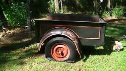 Ford Model A Tralier Manufactured From A Model A Pick Up Bed. All Originalandnbsp
