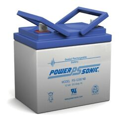 Power-sonic 12v 35ah Sla Replacement Battery For Ford Motor Co. Lgt165
