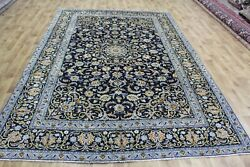 Fine Persian Kashan Carpet With Great Design And Superb Colours 320 X 215 Cm