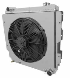 Jeep Wrangler Yj Radiator For Chevy V8 Conversion With Shroud Fan Relay And Of