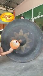 Thai Gongs Ancient (120 cm , 2 pieces Hand-made Handicrafts from Thailand)