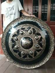 Gongs (Thai Gongs 100 cm 2 pieces ,Hand-made Handicrafts from Thailand)
