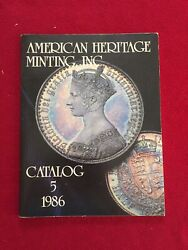 American Heritage Minting Inc Catalog 5 1986 Illustrated Foreign Coins Values