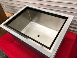 New 24 Drop In Ice Bin And Cold Plate 10 Circuit Glastender Di-ib24-cp10 2863