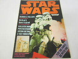 Vintage Star Wars R2-d2 / C3po Official Poster Monthly 23x34 20th Century Fox
