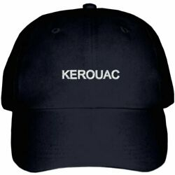 JACK KEROUAC 100% COTTON BASEBALL CAP - ONE SIZE FITS ALL - A GREAT GIFT! $9.95