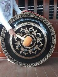Thai Gongs 100 cm (2 pieces ,Hand-made Handicrafts from Thailand)  beautiful