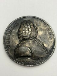 William Penn By Deeds Of Peace Betts 531 Variant Uniface Medal