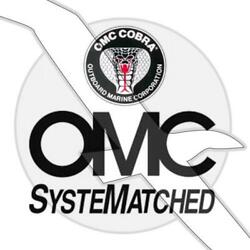 Omc Sterndrive Motor Oil Pump Cover And Pin Assembly 0982034 982034