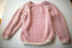 6T La Petite Collection Pink Sweater Smallable Store French Luxury Design