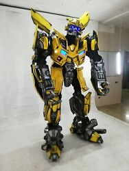 Transformer Bumblebee Optimus Prime  Cosplay Costume FROM ABS PLASTIC