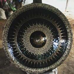 Thai Gongs (Thai Gongs 100 cm 2 pieces ,Hand-made Handicrafts from Thailand)