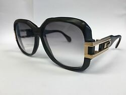 Super Rare Vintage Cazal black and gold Mod 623 Col 197 59_16 140