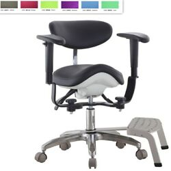 Microscope Dynamic Chair Dentist Chair Saddle Chair Medical Seat With Foot Base