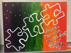 Original One Of A Kind Art Canvas That Changes The Trajectory Of  My Life