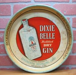 Old Dixie Belle Gin Tray Continental Distilling Phila Diplomat Rittenouse Whisky