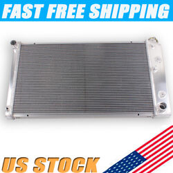 3 Rows Aluminum Radiator For Chevy Chevelle/gm 28 Core 1967-1980 68 72 75 77 79