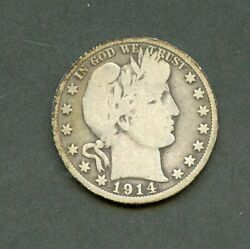 United States 1914 Barber Half You Do The Grading Have Fun Bidding