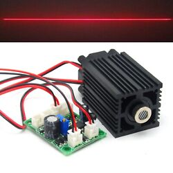 650nm 200mw Focusable Line Laser Locator Module Red Diode 12v Driver Board