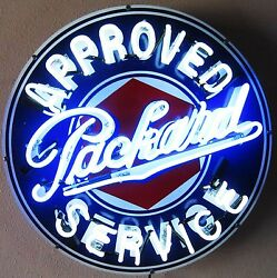 Packard-approved Service Neon Watch Video