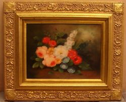 Magnificent French Oil On Canvas Still Life Painting By R. Rodin And039must Seeand039