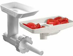 Kitchenaid Ksmgbc Food/meat Grinder Attachment With Sausage Stuffer Kit And F...
