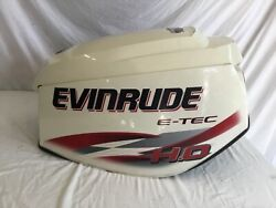 Top Cowl Engine Cover Evinrude 115 Ho 130 Hp Etec 0285677 Je04