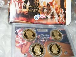 2007 United States Mint Presidential 1 Coin Proof Set/original Packaging W/coa